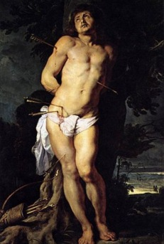 Saint Sebastian (1644) - Rubens