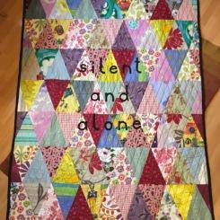 Rebecca J Burman 'Silent and Alone' 2015