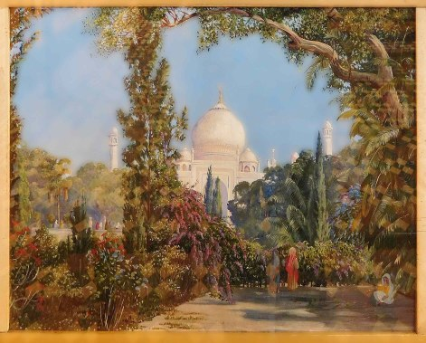 Marianna North - The Taj Mahal at Agra, North West India